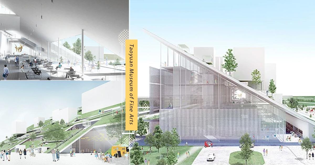 【桃園】桃園人好幸福! 市立美術館「玻璃山丘」設計超夢幻 周邊還有「X-park水族館、IKEA」太欠玩~