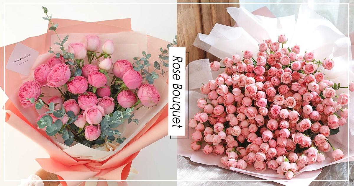 【韓國】IG熱門新寵兒!女孩最愛「玫瑰球球花束」 粉嫩「圓圓玫瑰」含苞待放超浪漫!